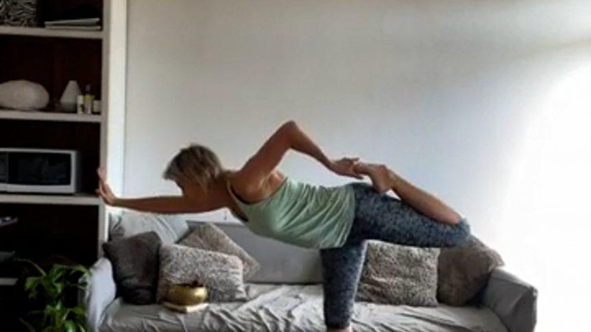 One legged balance